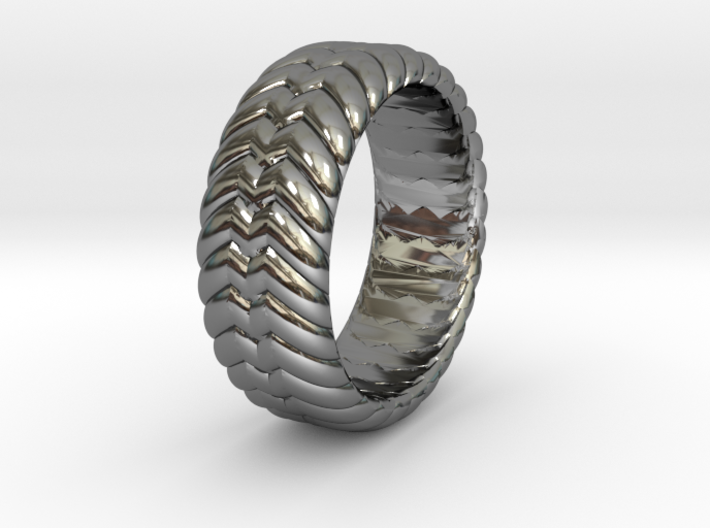 W RING 1 SIZE 10.5 3d printed