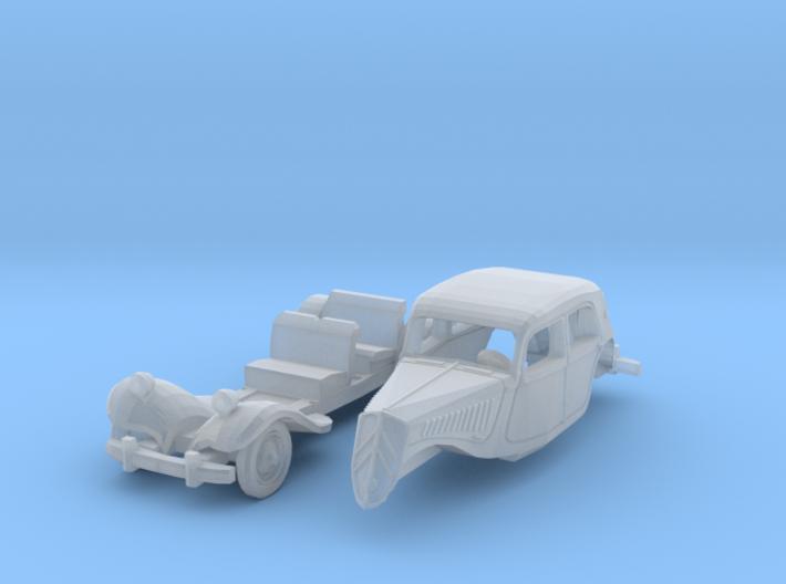 Citroën 11BL (N 1:160) 3d printed
