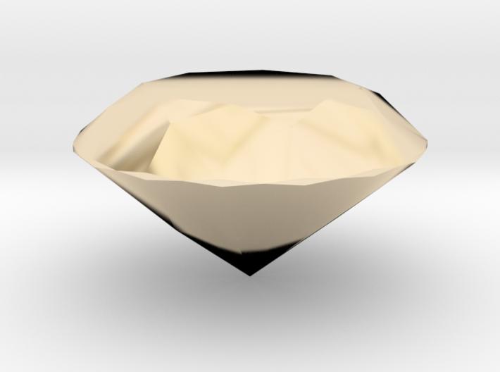Diamond (Hollow) 3d printed