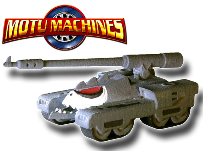 MOTU Machines Series - Destructo Tank V.2 3d printed