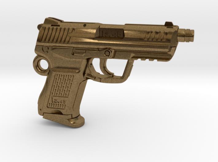 SPM-A001-Hk45-02 Heckler & Koch 45C Keychain 3d printed