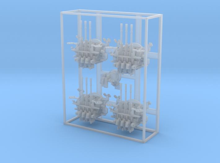 1:100 TYPE96TripleMG Latex4 3d printed