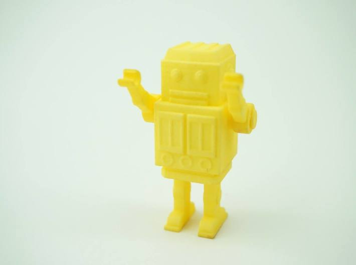 Robot with moving hands 3d printed