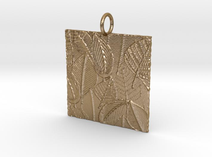 Autumn Slate Pendant 3d printed