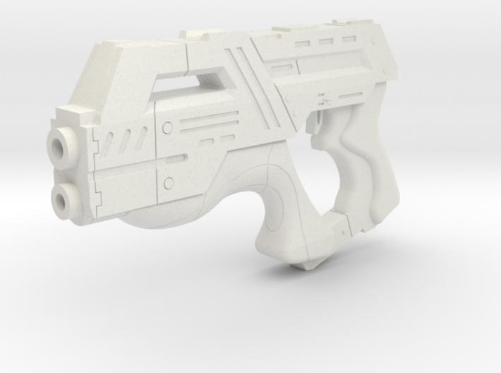 Mass Effect 1:6 M-6 Carnifex Heavy Pistol 3d printed