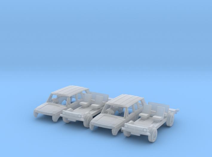 SET 2x Range Rover (British N 1:148) 3d printed