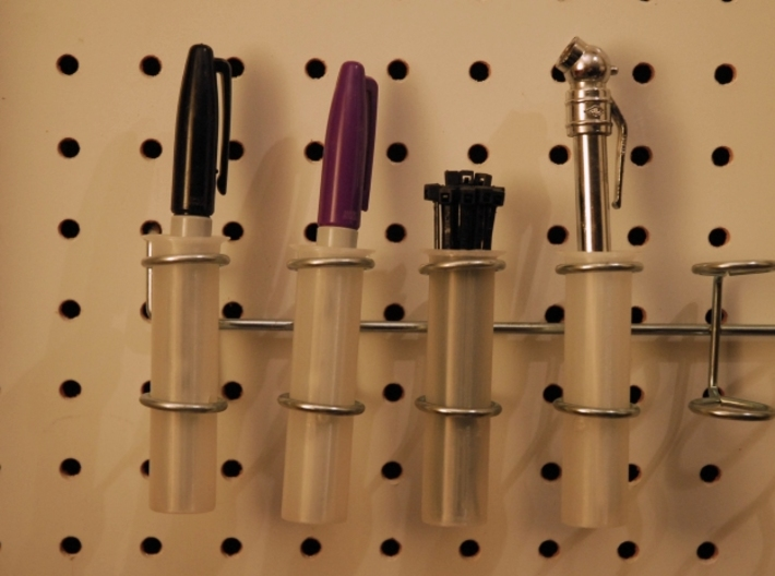 Pegboard Tool Holder 3d printed
