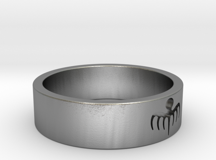Spectre Ring - Size 8 3d printed