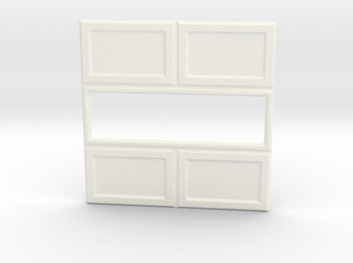 Paneled Wall 003 Passthrough 3d printed