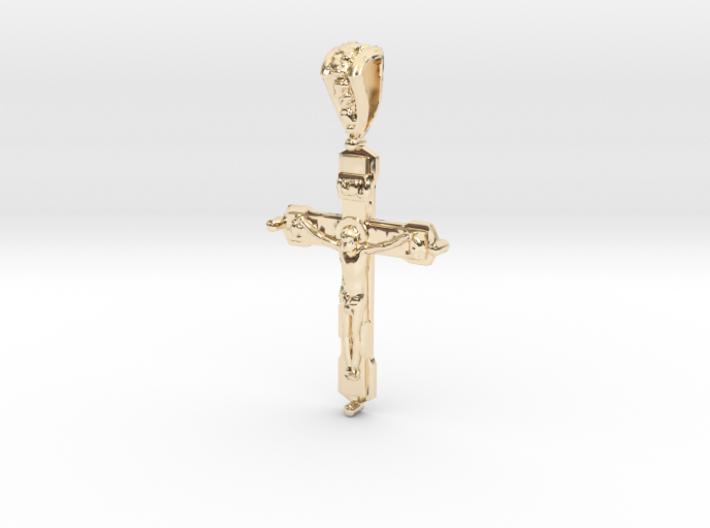 Pendant Cross 2 3d printed