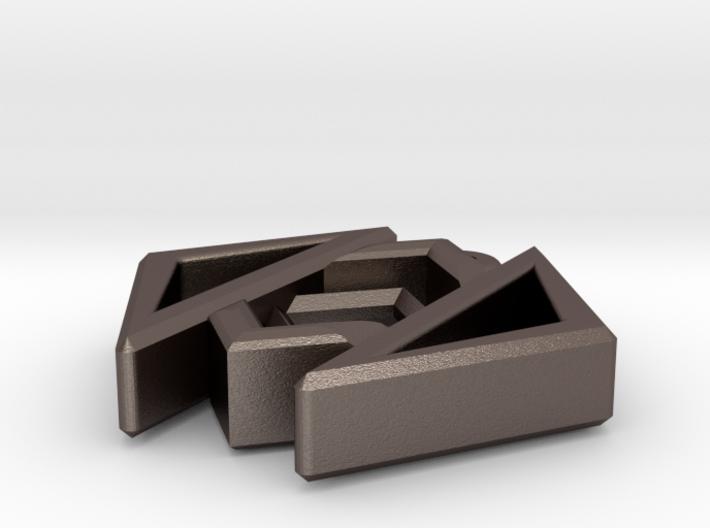 Geometric Design Pendant 3d printed