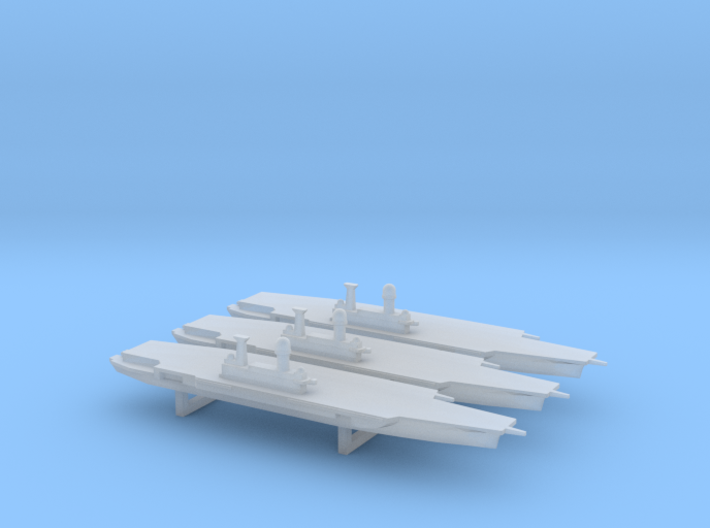 CVA-01 x 3, 1/6000 3d printed
