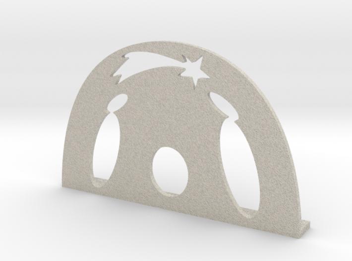Christmas Crib 3d printed