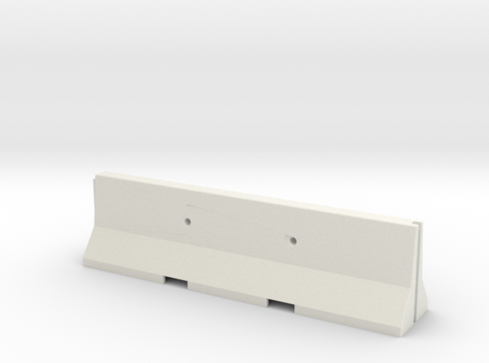 1/35 Jersey Barrier (10 ft/3m) 3d printed
