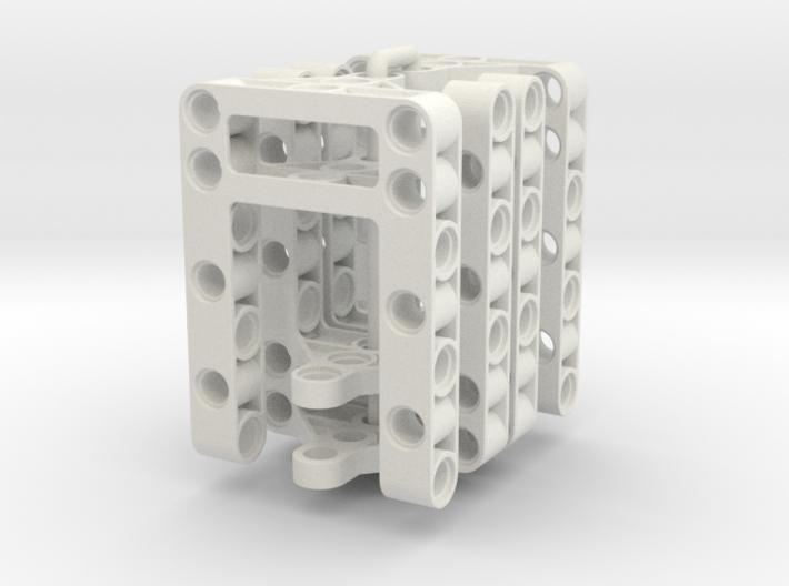 4 Piece Set Difframe 5x7x1+3 3d printed