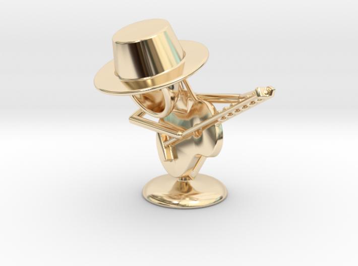 "Lala ""Playing Guitar"" - DeskToys 3d printed"