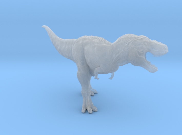 Tyrannosaurus Rex 1/100th scale DeCoster 3d printed