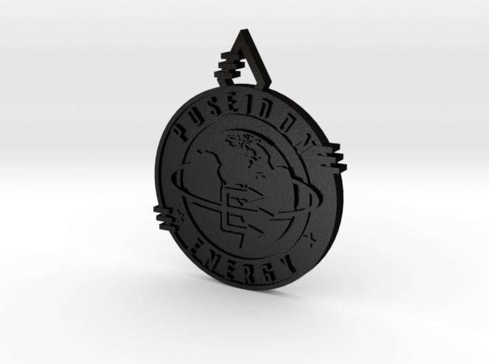 Poseidon Energy Pendant 3d printed