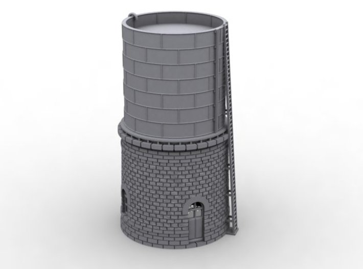 NCE02 Water tower 3d printed