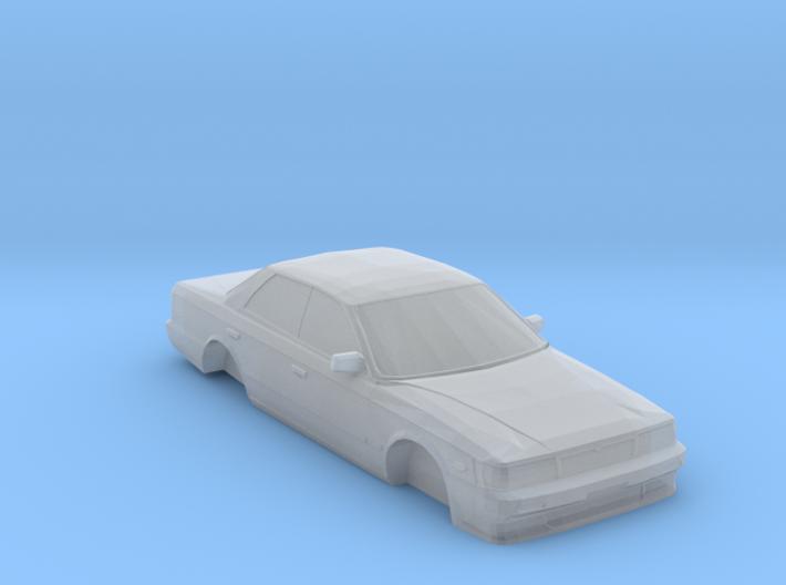 N Scale 1989-1993 Nissan Laurel C33 3d printed