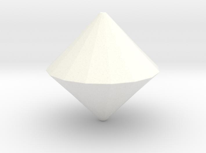 d32 DiePyramid (blank) 3d printed