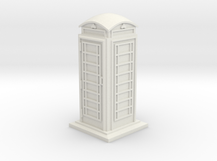35mm/O Gauge Phone Box 3d printed