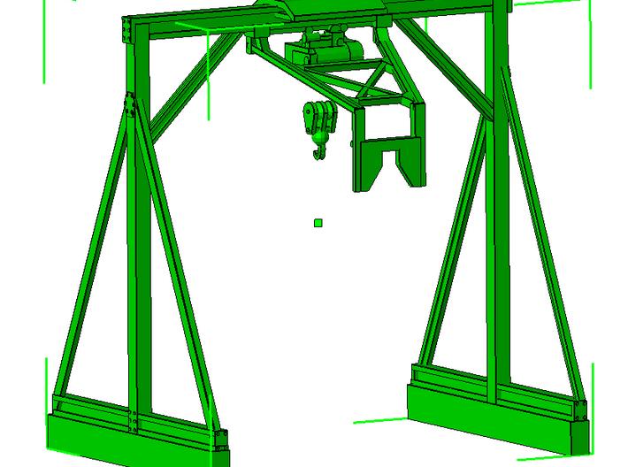 1/50th Mar Hook Log Trailer Hoist Crane 3d printed