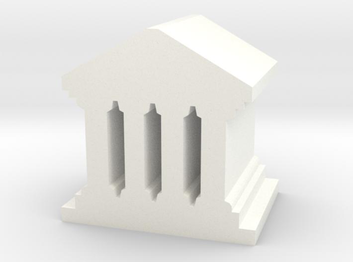 Game Piece, Roman Temple, Palace 3d printed