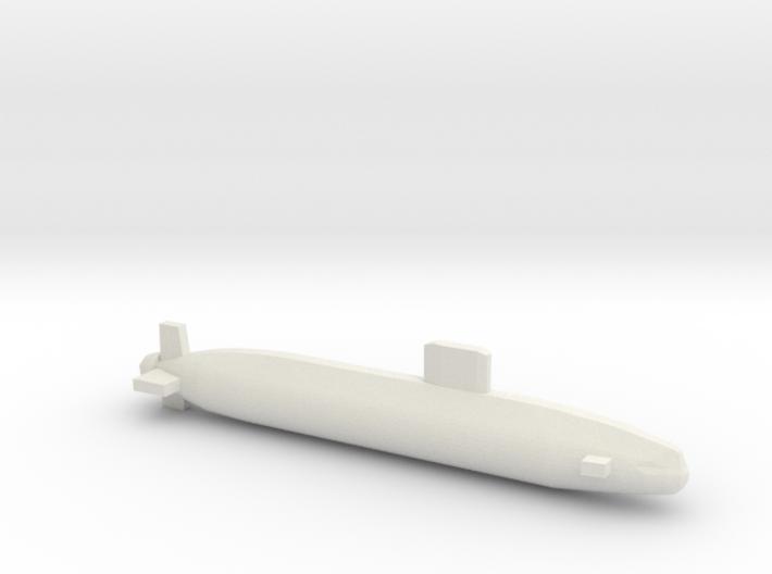 Trafalgar Class SSN, Full Hull, 1/2400 3d printed