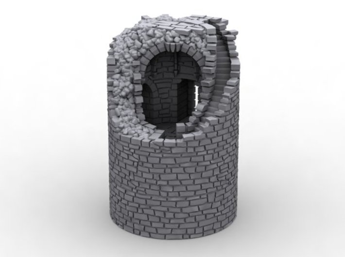 NF50 Ruined tower 3d printed