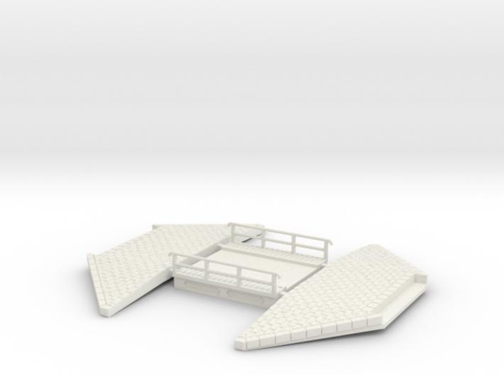 NPTR5 Railway bridges on road 3d printed
