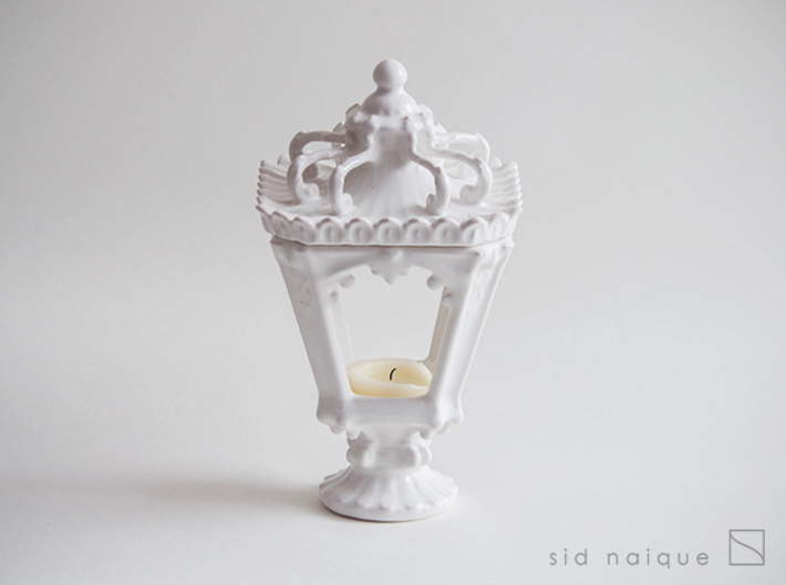 Candle Holder - Classic Lantern 01 - Tealight 3d printed