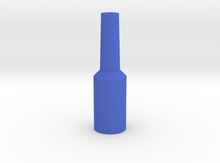 Tuba Mouthpiece Resistance Tool 3d printed