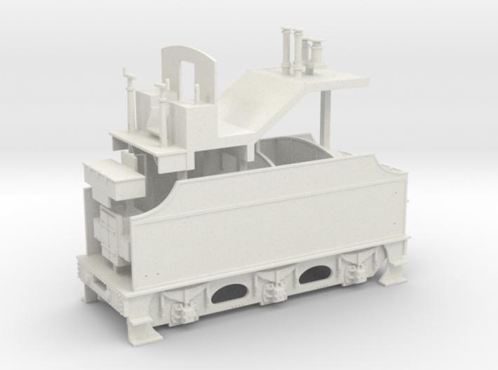 Fowler Tender - Body 3d printed