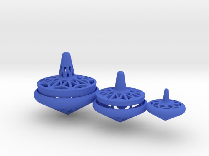 3 Nesting Spinning Top - Matryoshka 3d printed
