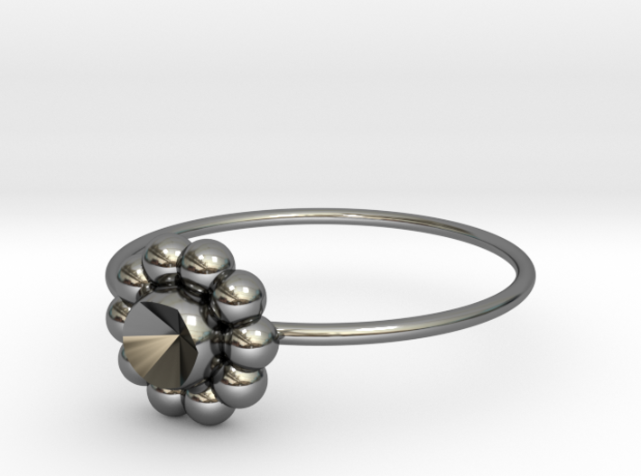 Size 10 Shapes Ring S6 3d printed