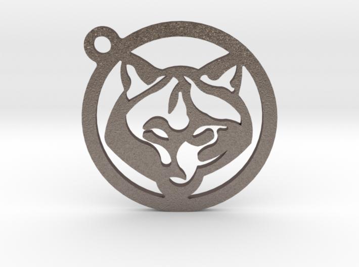 WOLF KEY 3d printed