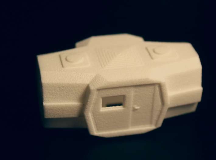Majorette 223 V1, All-In-One 3d printed Let's see details, printed in strong & flex