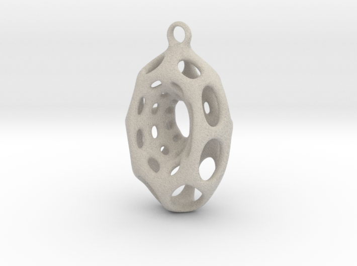 LissiPendant 3d printed