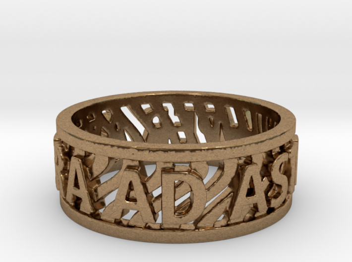 Andy Ring 20mm Ring Size 10.25 3d printed