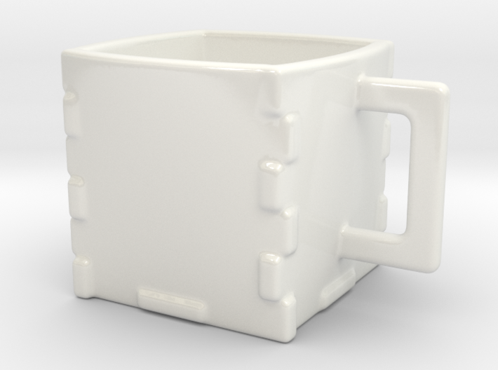 Laser Cutter's Cup 3d printed