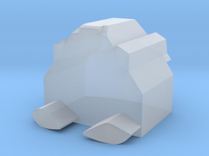 Nautical Femmebot Head (eyes) 3d printed