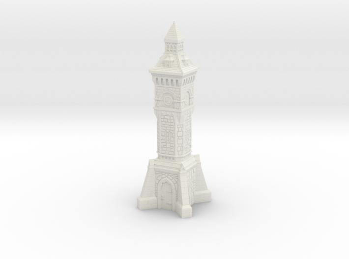 N Gauge Victorian Clock Tower 3d printed