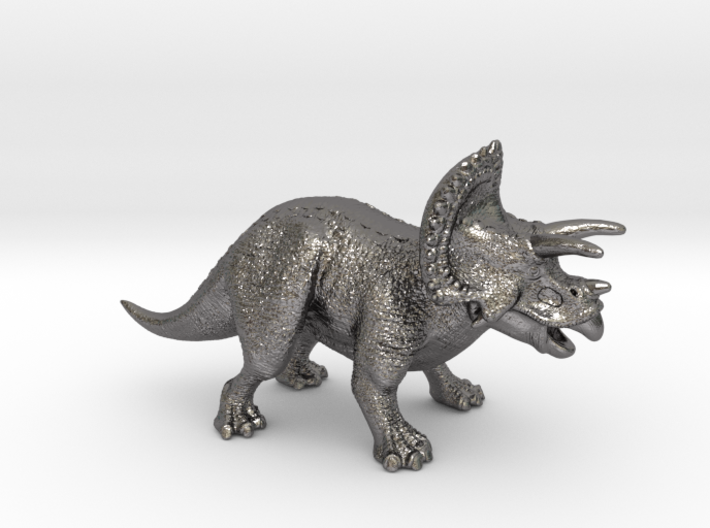 Triceratops Game Piece 3d printed