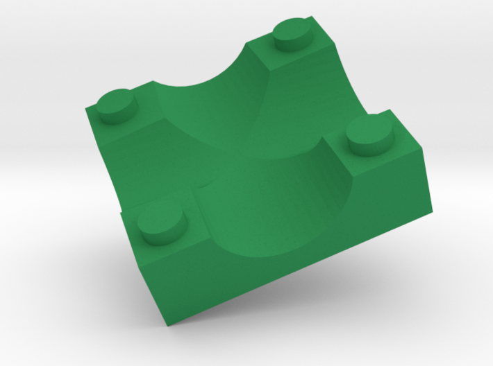 C3 Slanted Intersection 3d printed