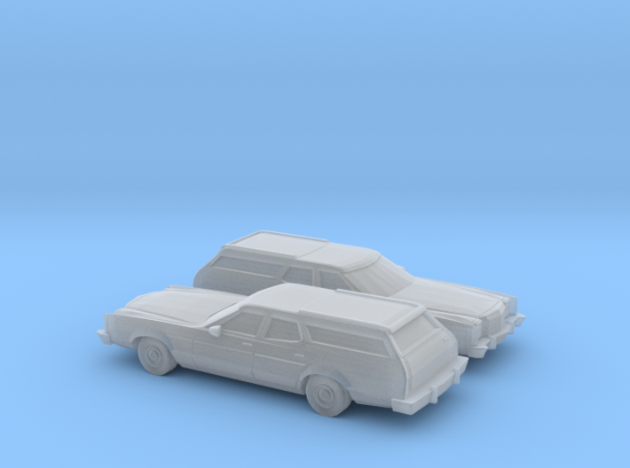 1/160 2X 1977-79 Ford LTD II Station Wagon 3d printed