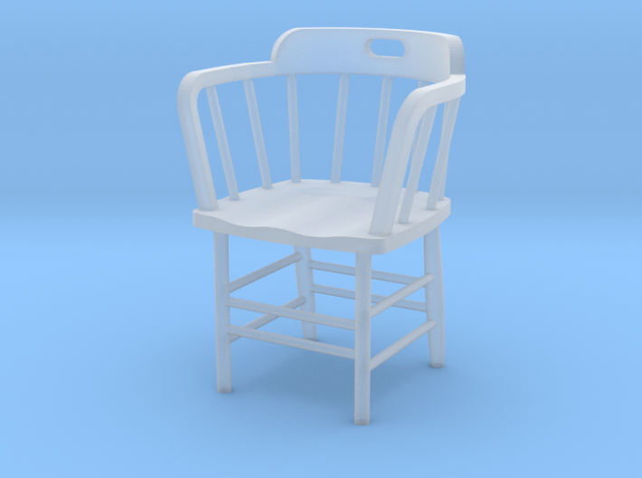 Caboose Chair Doll House 1/24th scale 3d printed