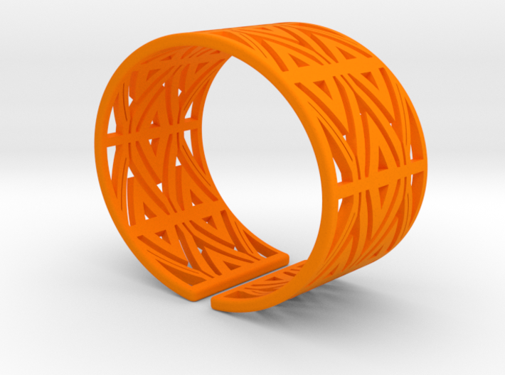 Patterned Cuff Detail 1 3d printed