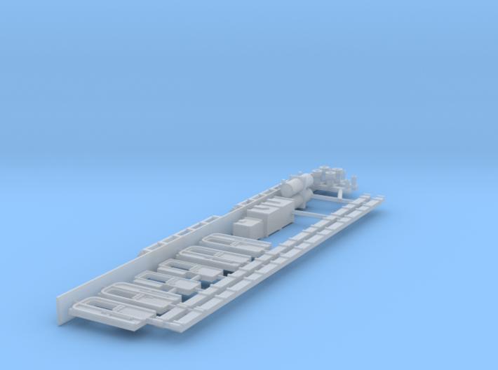 N scale Skagensbanen M1 Part 3 of 3 3d printed