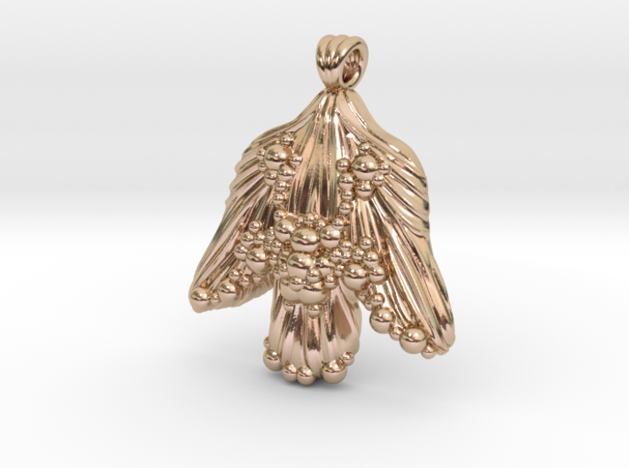 Abstract Angel 3d printed